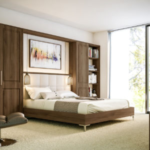 Natural Walnut Tuscany Bedroom
