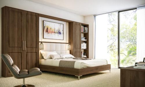 Natural Walnut Tuscany Bedroom