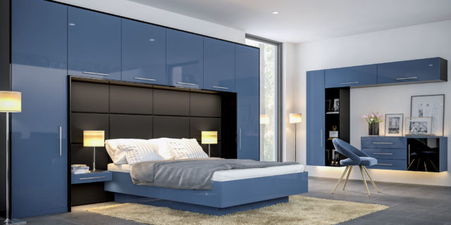 Zurfiz UG Baltic Blue UG Black Bedroom
