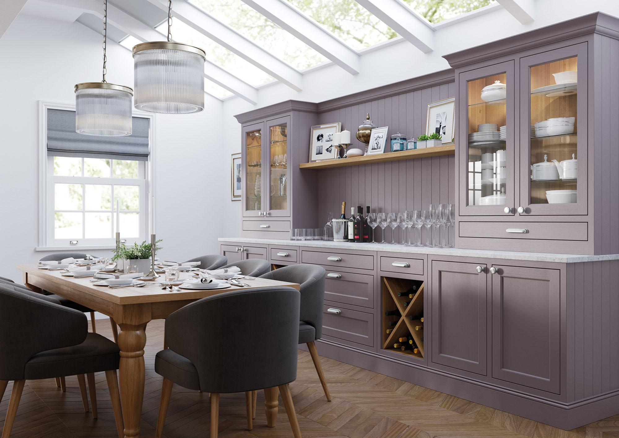 lavender grey cashmere