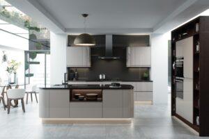 porth handleless kitchen